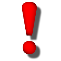 Red Exclamation Point