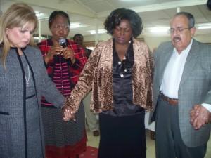 Rev. Liz with Pastor Tony & Elder Sabrina