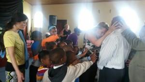 Pastor Samantha Ministering