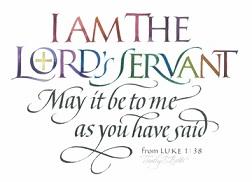 The Lord's Servant - Luke 1:38
