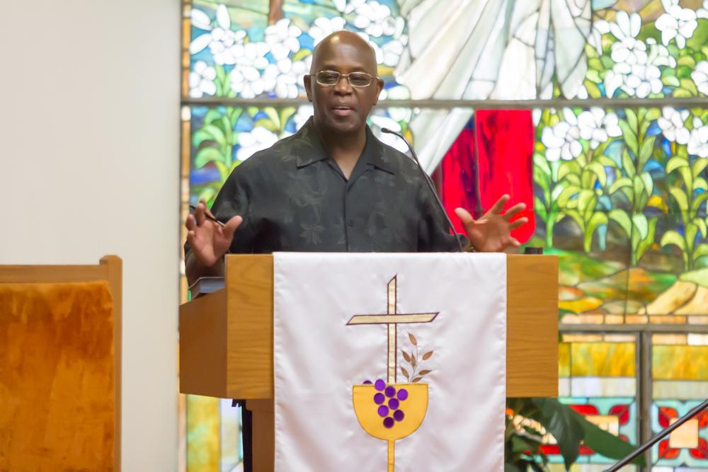 Pastor Tim Henderson