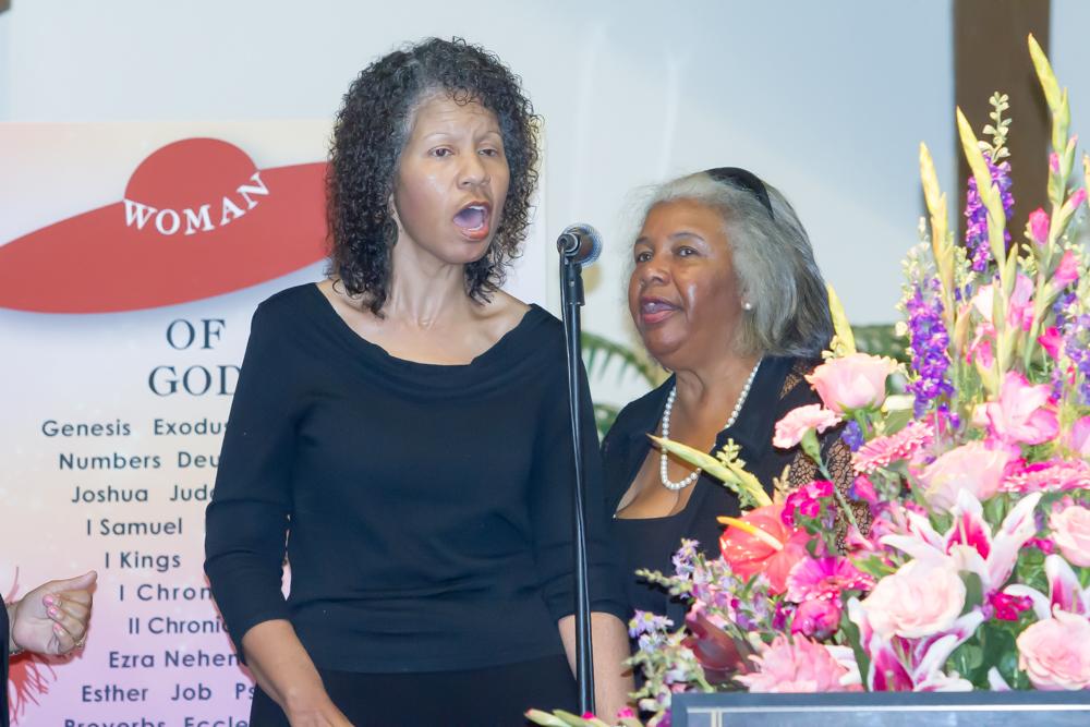 Psalmist Kim Newton