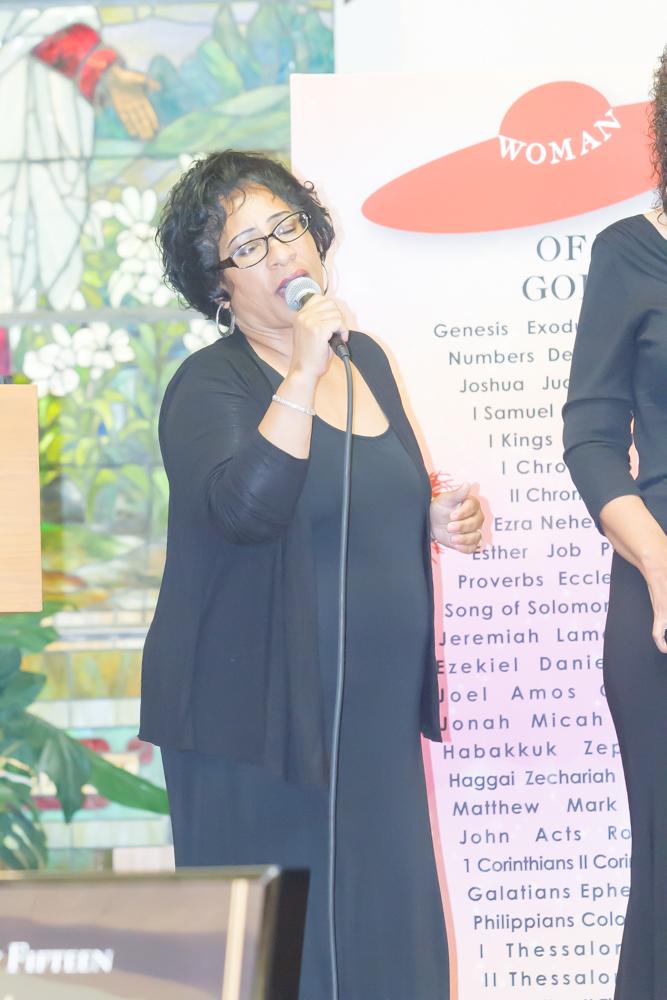 Psalmist Rene Norris
