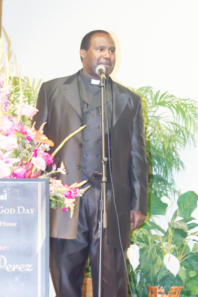 Pastor Henry Newton - 2015 WOGD