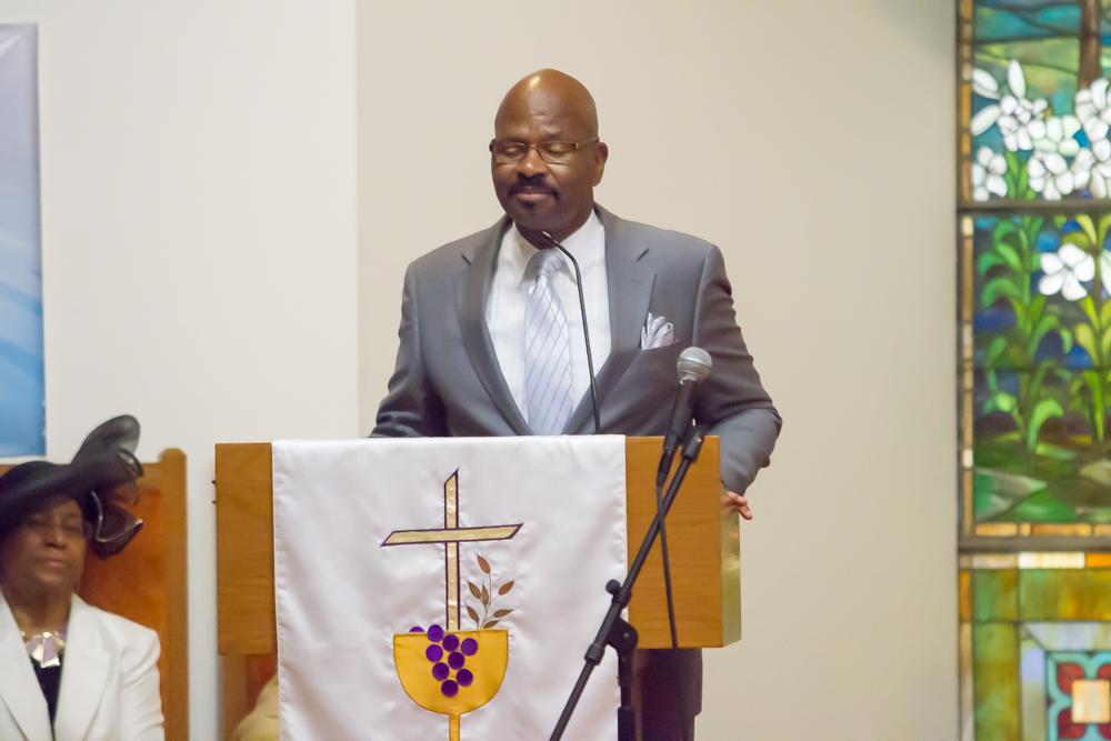 Pastor Donald Jones