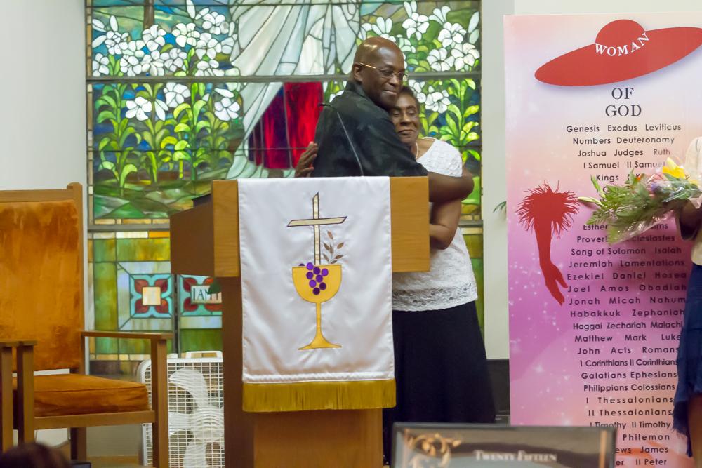 Pastor Tim Honoring Sister Velma Boger - 2015 WOGD