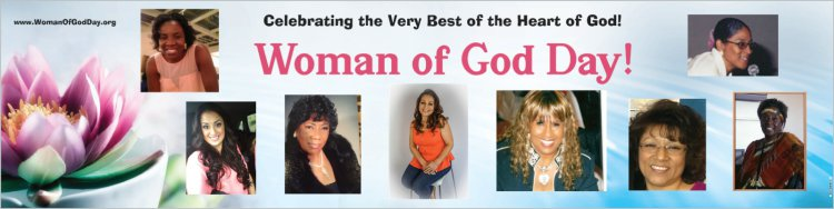 Woman of God Day 2015 Banner